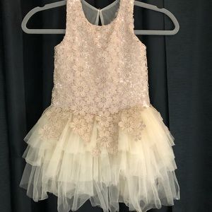 Mardi Amber Dress Lace and tulle size 9